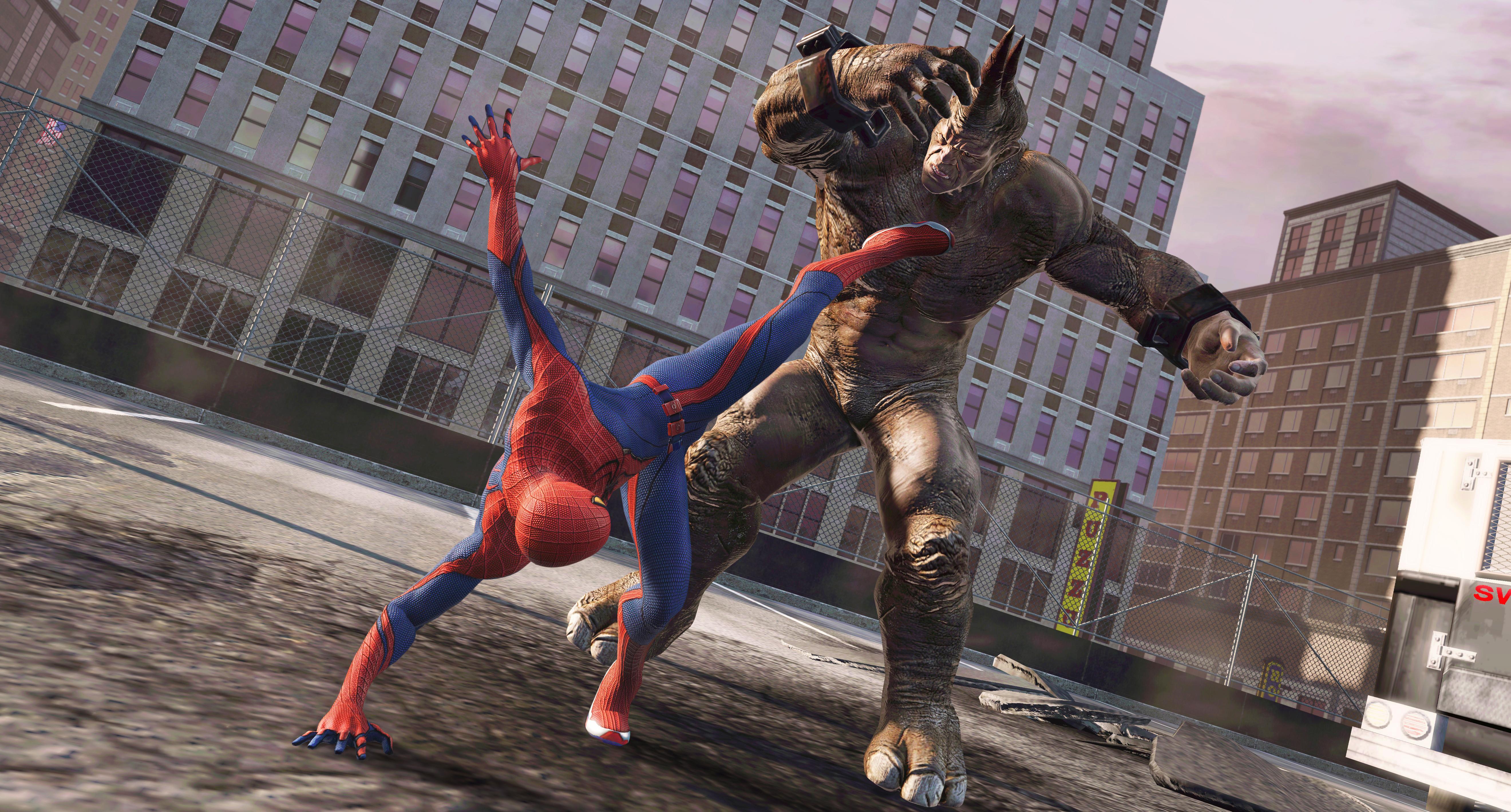 Resultado de imagem para the amazing spider man game