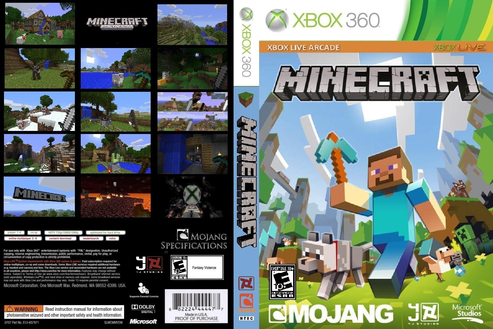 Versão física de Minecraft para Xbox 9 é adiada para 9 de Junho