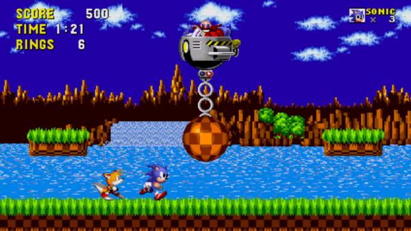 Imagem do game SONIC