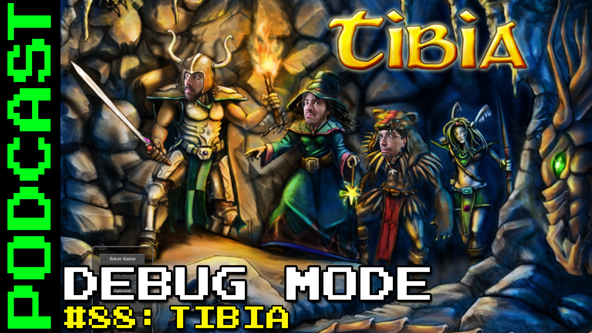 Debug Mode #88: Tibia - Podcast
