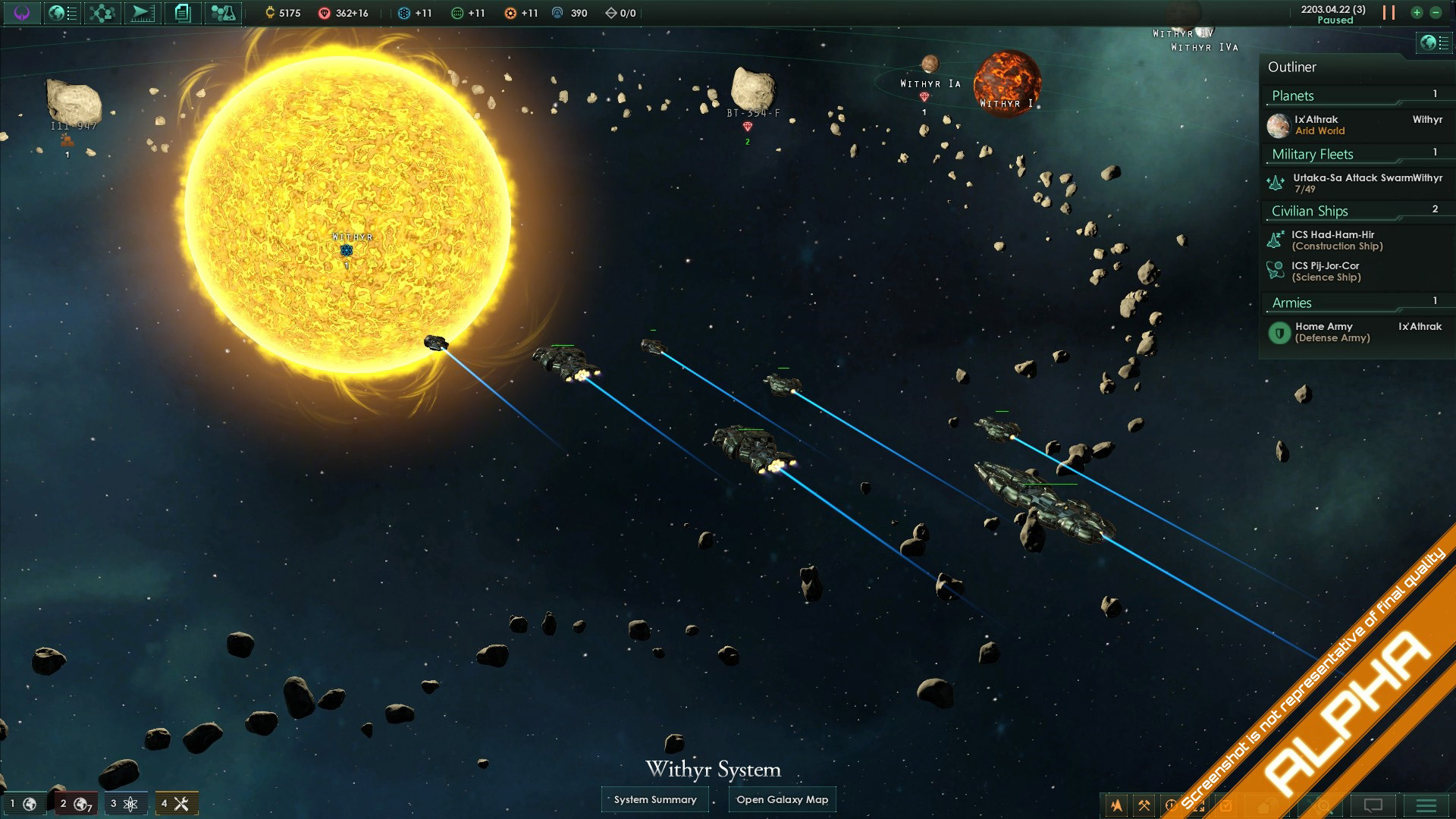 Stellaris Batalha